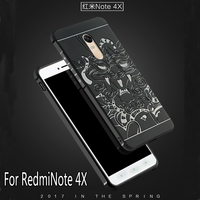 Luxury Phone Case For Xiaomi Redmi Note 4X High Quality Silicone Hard Protective Back Cover For
