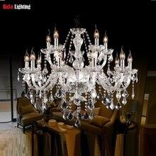 Crystal Pendant Chandelier Living Room lustres de cristal Decoration Tiffany Pendants and Chandeliers Home Lighting Indoor Lamp