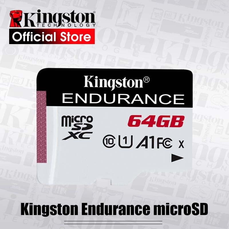 Карта памяти Kingston durance micro sd, 32 ГБ, 64 ГБ, 128 ГБ, класс 10 A1, эксклюзивная карта памяти для домашнего мониторинга, карта microsd, новый список