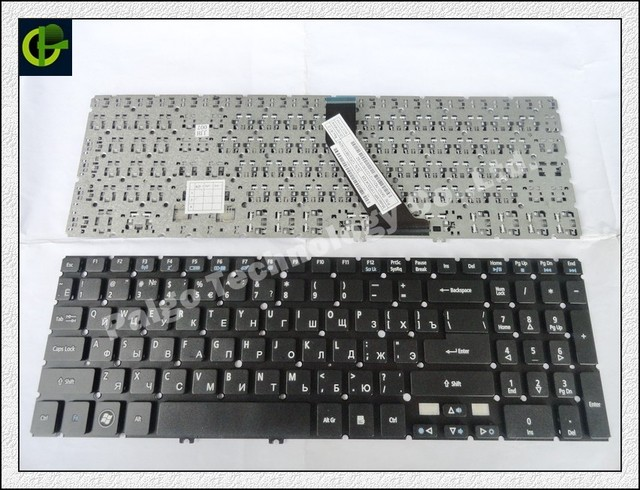 Russian Keyboard for Acer Aspire V5-552 V5-552G V5-552P  V5-572 V5-572G V5-572P  V5-573 V5-573G V5-573P RU Black keyboard