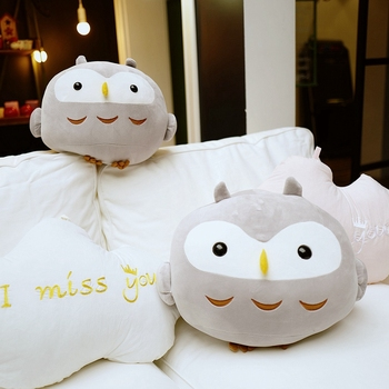 Cute Sitting Owl Plush Toy