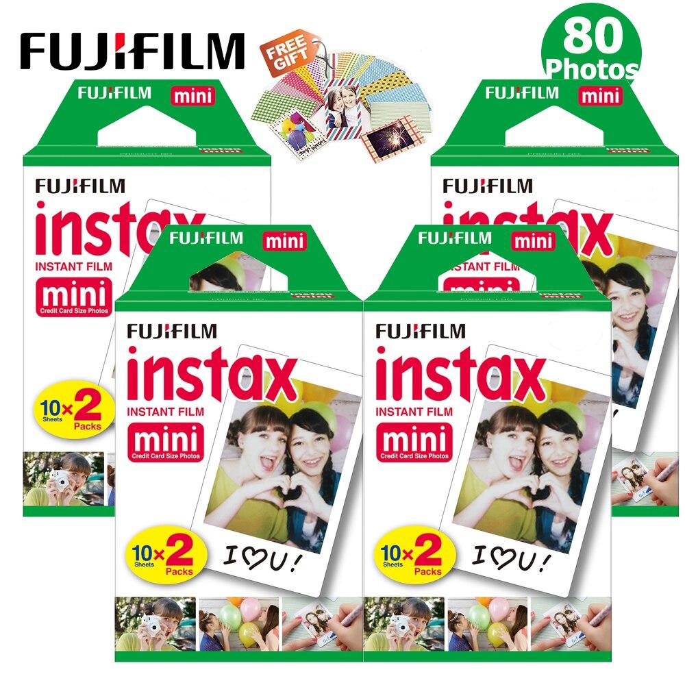 Fujifilm Instax Mini Film Plain White Frame 80 Sheets Instax Mini 9 Films For Fuji Instax