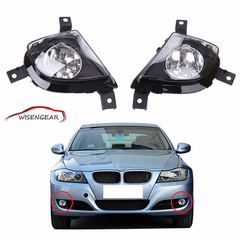 For BMW 3-Series E90 E91 2009 - 2011 car styling fog lights 1 Set Fog Lamps  63177199893 & 63177199894 C/5 цена 2017