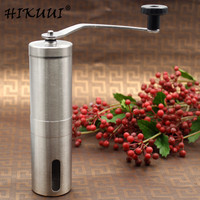 HIKUUI 1PCS 30g/40g Manual coffee grinder machine stainless steel grinder hand push coffee machine family kitchen tools