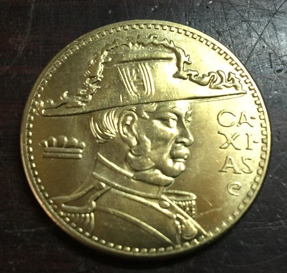 1936 БРАЗИЛИЯ 2000 Reis КОПИЯ Медь монет