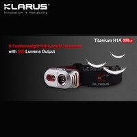 Precio Mejor venta KLARUS de titanio H1A CREE XP L V3 LED pluma Ultra brillante AA faro