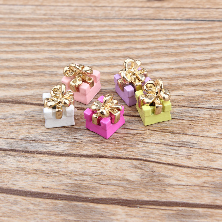 100pcs 811mm cute diy jewelry accessories gold color alloy enamel candy color paint - Buy Candy By Color