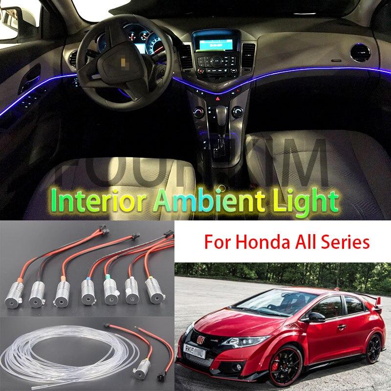 For all Car 12V Car power Car Interior Ambient Light Decorative Lamp ...