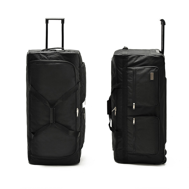 LeTrend large capacity 32 inch Travel Bag Rolling Luggage 40 inch Oxford Suitcases Wheel Men Multifunction School Bags Trunk