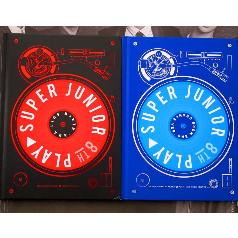 signed S.J Super Junior autographed 8th album PLAY CD+photobook +signed poster K-POP 112017