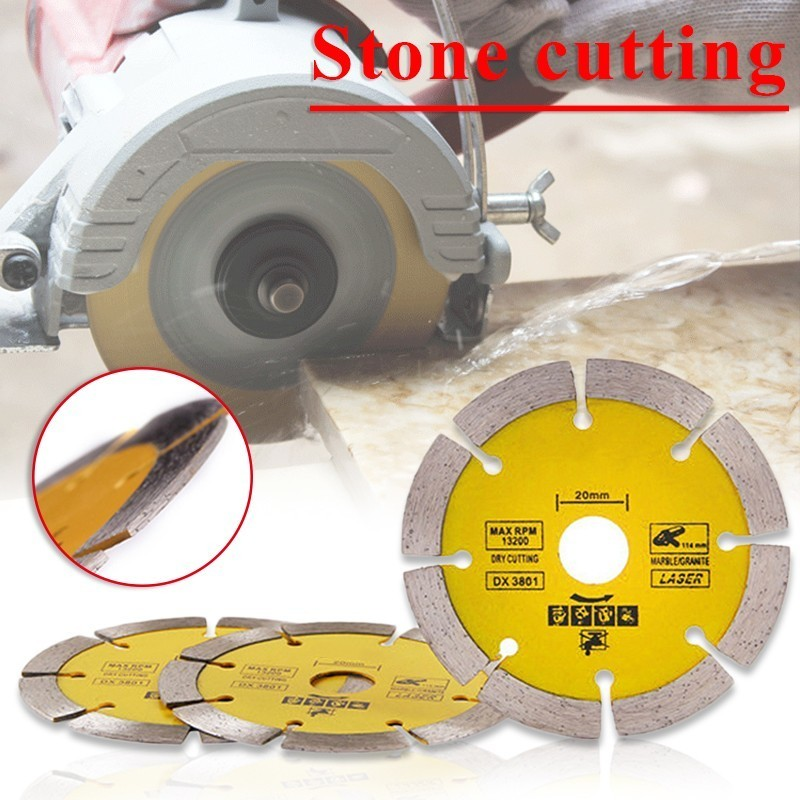 Dry Or Wet Cutting Disc Continuous Rim Diamond Saw Disc Wheel Saw Grinder Specialized Stone Cutting Sheet