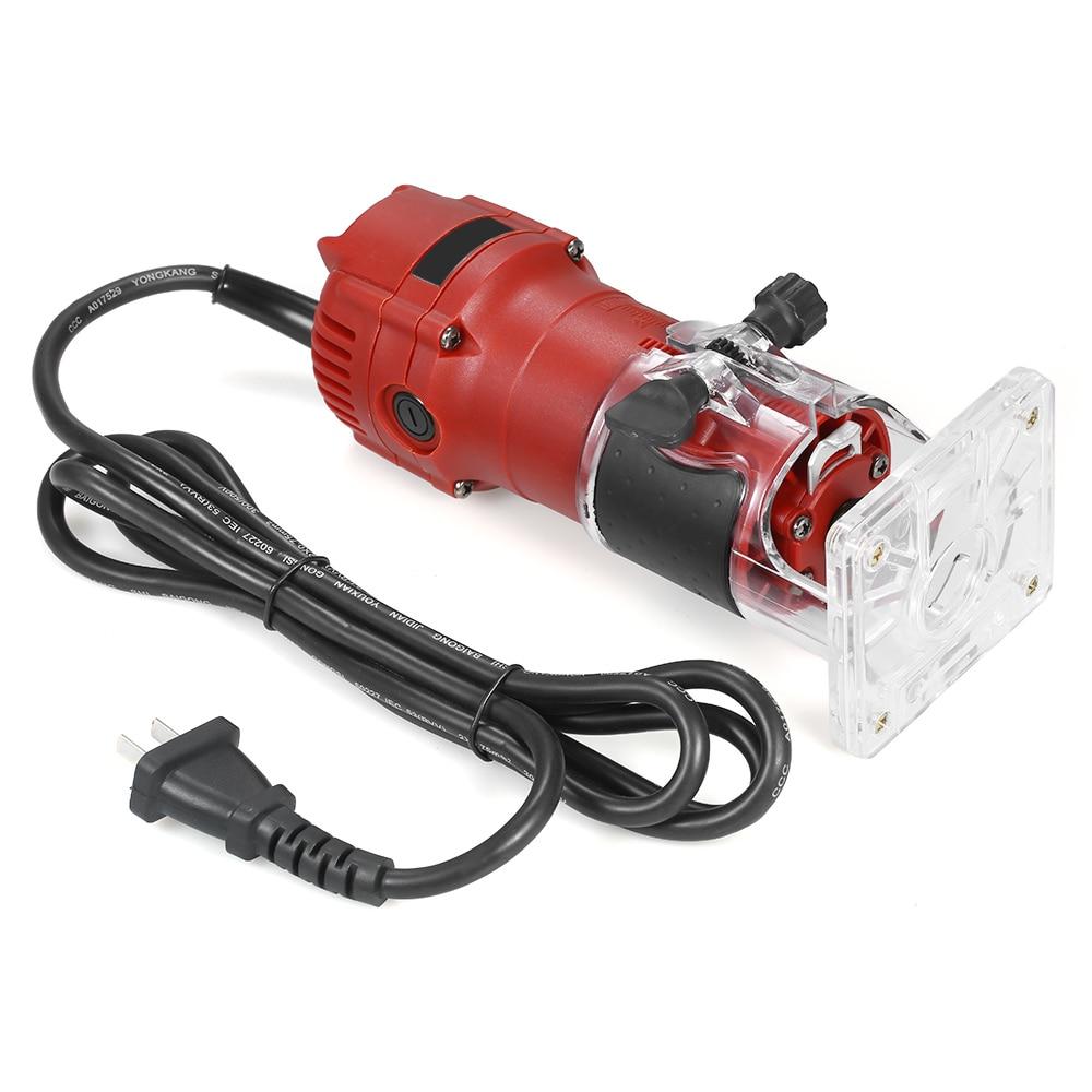 850W 30000rpm tondeuse électrique à bois fraisage gravure Machine de découpage à rainurer main sculpture Machine bois routeur - 3