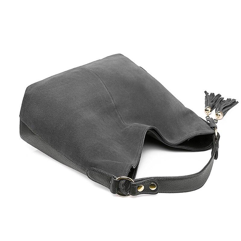 REALER женская кожаная сумка на плечо, сумка-мессенджер, женская через плечо, большая сумкак с верхней ручкой