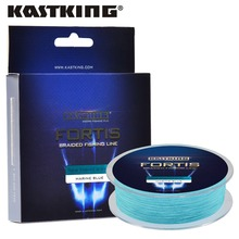 KastKing Fortis Series 320M 4Strands Multifilament Fishing Line Super Strong PE 4 Colors 8-80LB Braided Fishing Line(United States)