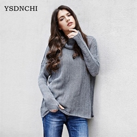 YSDNCHI New Fashion Winter Casual Long Sleeve Knitted Christmas Sweter Casacos Femininos S XL 9 Colours
