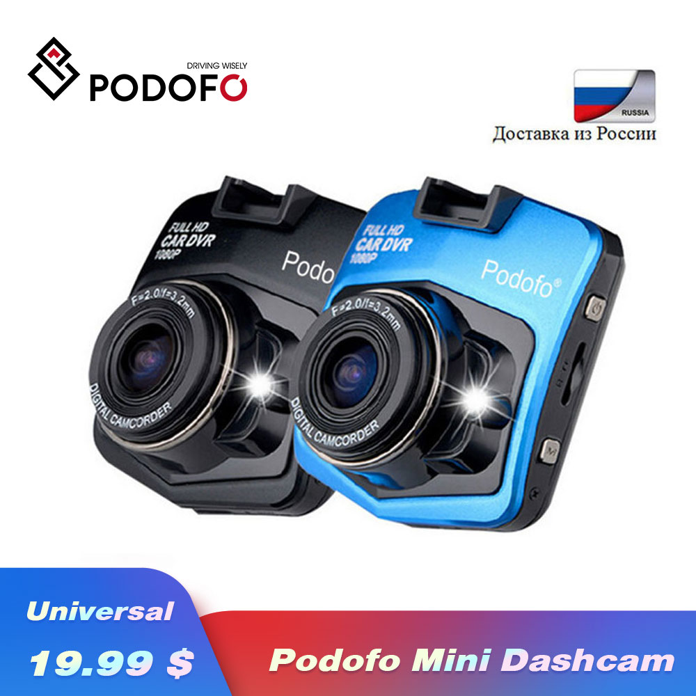 2019 neue Original Podofo A1 Mini Auto DVR Kamera Dashcam Volle HD 1080 P Video Registrator Recorder G-sensor nachtsicht Dash Cam