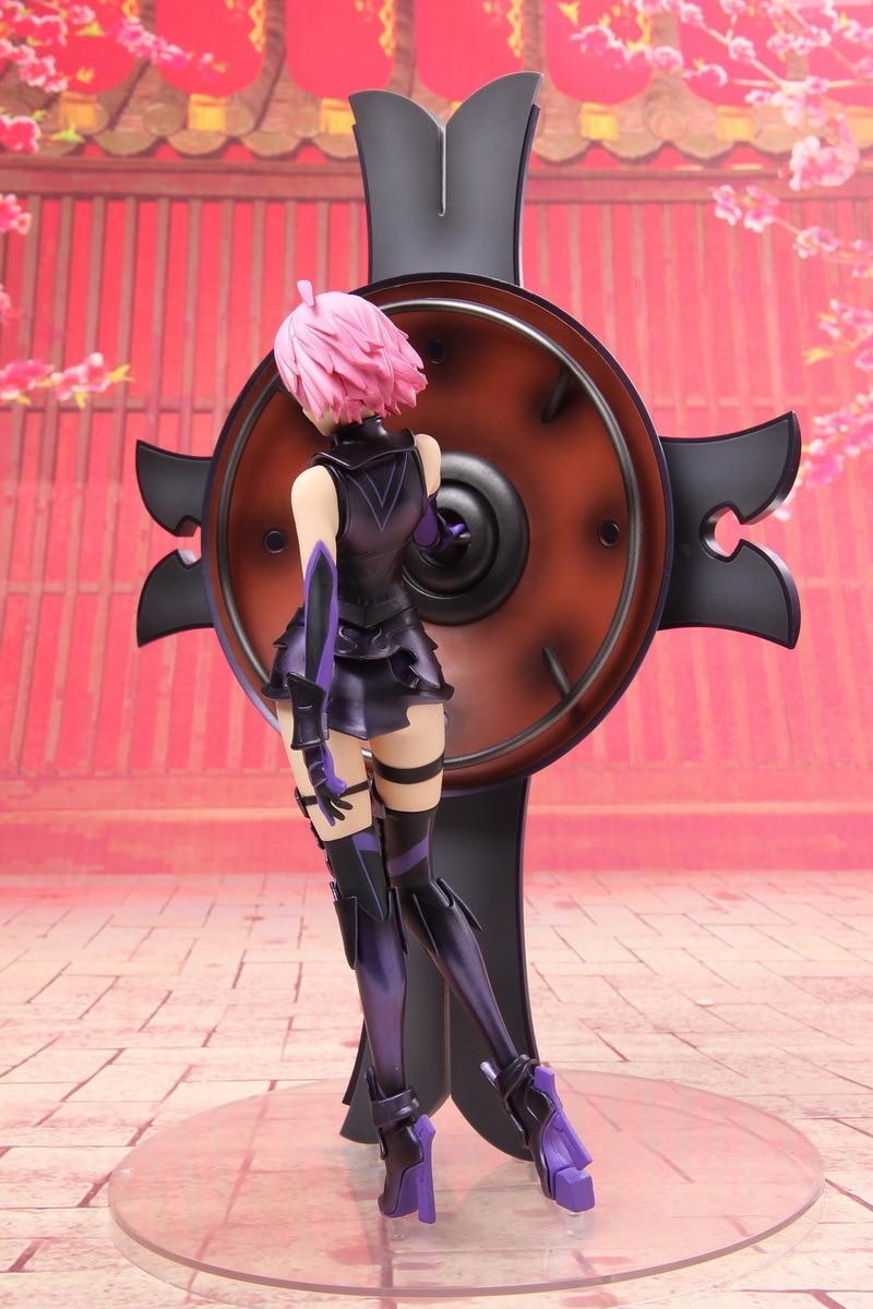 J Ghee Fate Grand Order Matthew Kyrielite Mash Kyrielight Figure/Shielder 1/7 Scale PVC Figure Collectible Model Toy le fate топ