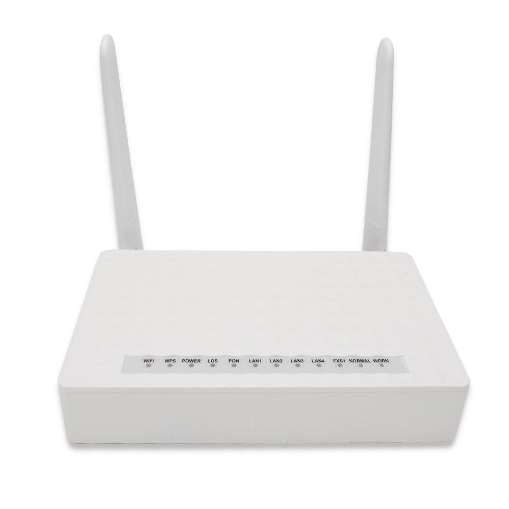 EPON ONU ONT 1GE + 3FE + WIFI compatible avec zte/huawei/fibre home olt
