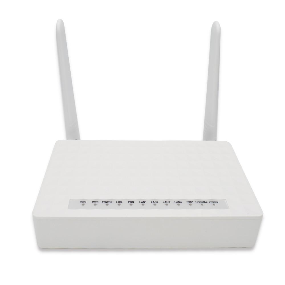 EPON ONU ONT 1GE + 3FE + wifi Совместимость с zte/huawei/fiberhome olt