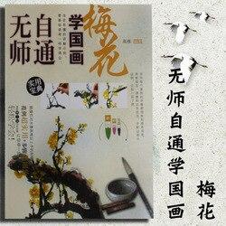 Pincel chinês tinta arte pintura sumi-e auto-estudo técnica desenhar livro de ameixa, mão livre escova livro livro livro livro livro livro