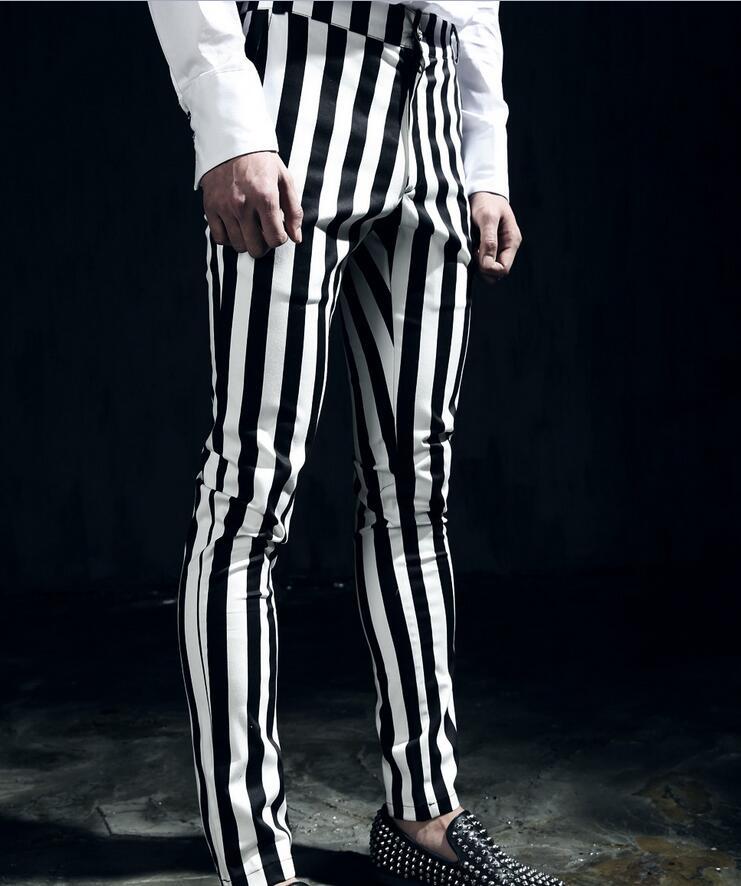 27 44 ! 2017 Hair Stylist black and white vertical stripe ...
