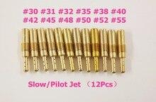 New 12pcs Set SlowPilot Jet for PWK Keihin OKO CVK 303132353840424548505255