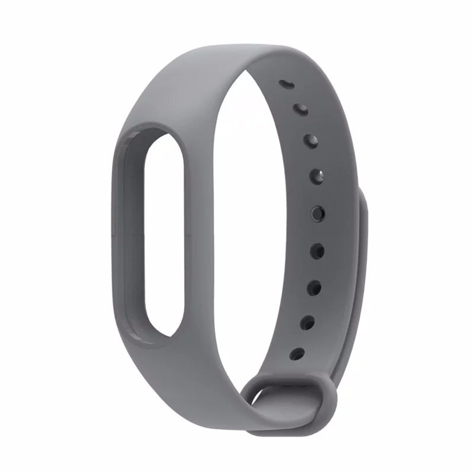 Teyo Silicone Replacement Wrist Strap For Xiaomi Mi Band 2 Smart Band Accessories Miband 2 for Xiaomi Mi Band 2 Smartband Sraps 18