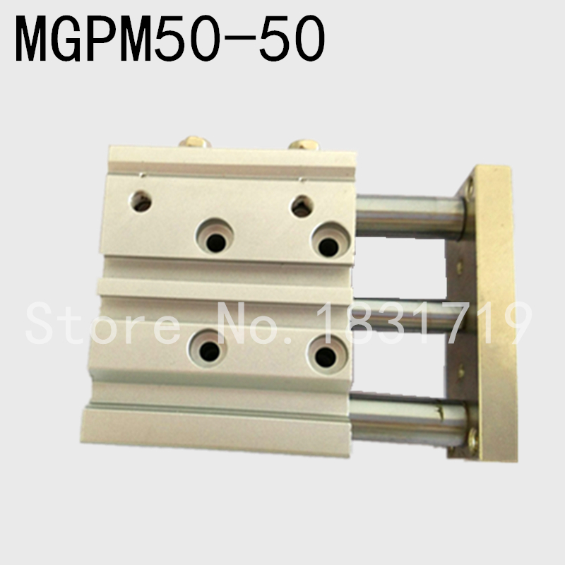 SMC Type MGPM50-50Z Thin cylinder with rod MGPM 50-50Z Three axis three bar MGPM50*50Z Pneumatic components MGPM50X50Z