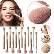 12Pcs Foundation Eyeshadow Powder Brush Set with Unique Zodiac Handle beauty tool Makeup Brushes Set