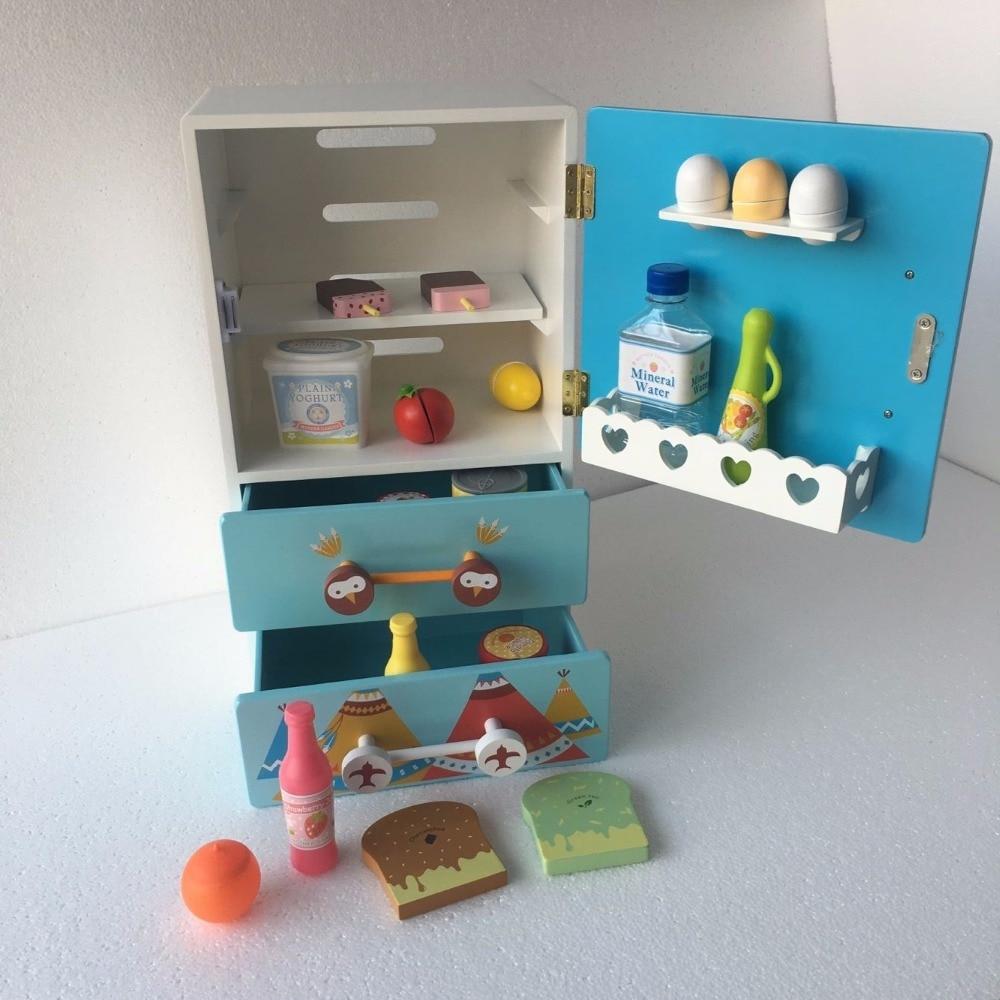 Aliexpress.com : Buy Kids Wooden Cartoon Kitchen Toy Set Child ...