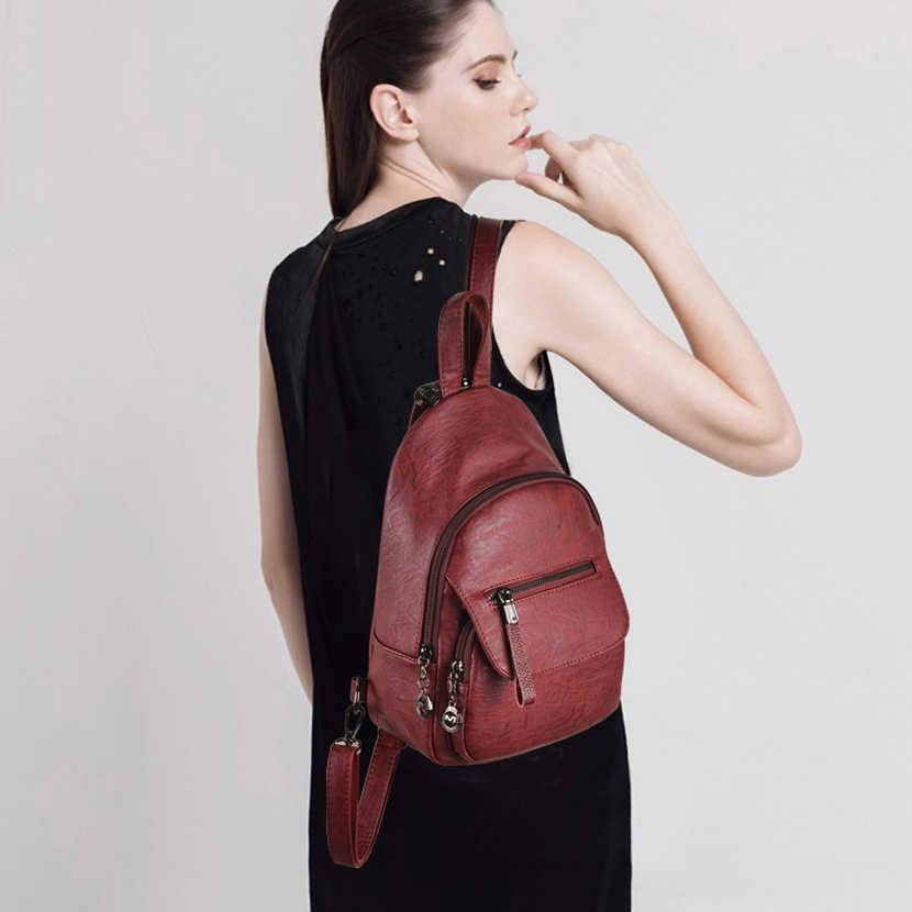 Модный женский рюкзак, брендовый кожаный рюкзак, Женский дизайнерский нагрудный рюкзак, роскошные рюкзаки, сумки на плечо для женщин, Mochila