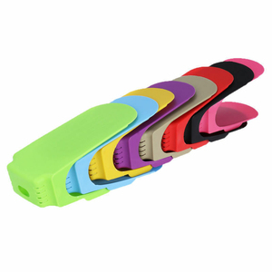 Image 3 - 8pcs Durable Adjustable Shoe Organizer Footwear Support Slot Space Saving Cabinet Closet Stand Shoes Storage Rack Shoebox