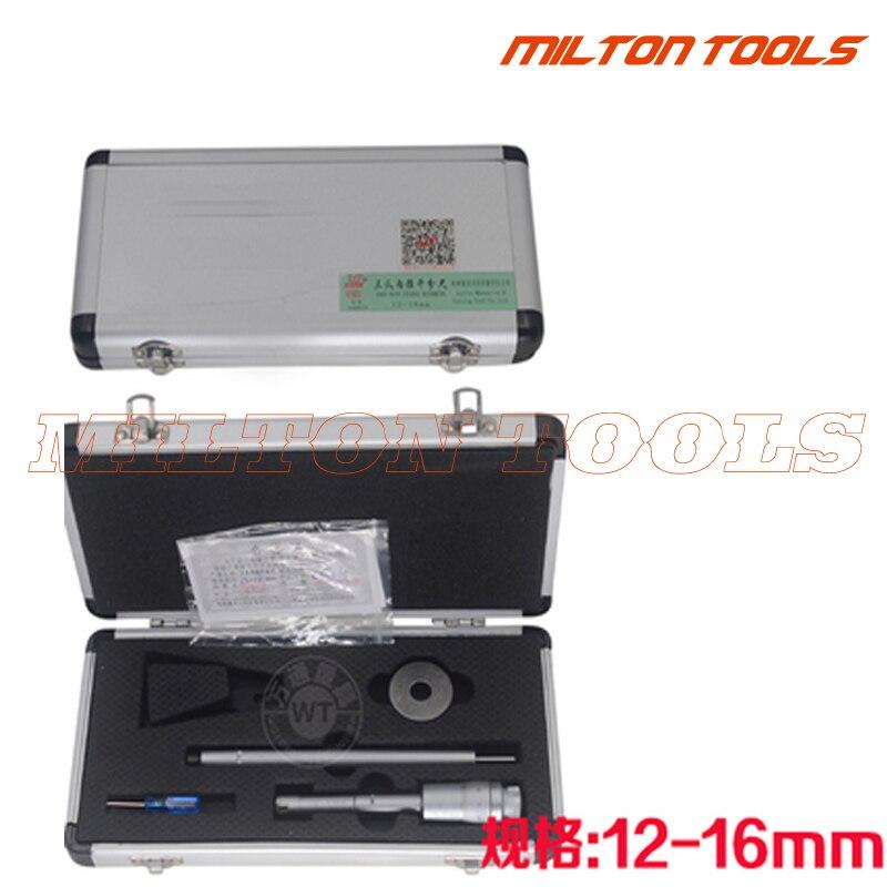 Shan бренд 12-16 мм 0,005 мм Трехточечные внутренние Микрометры 12-16 мм внутренний измерительный прибор