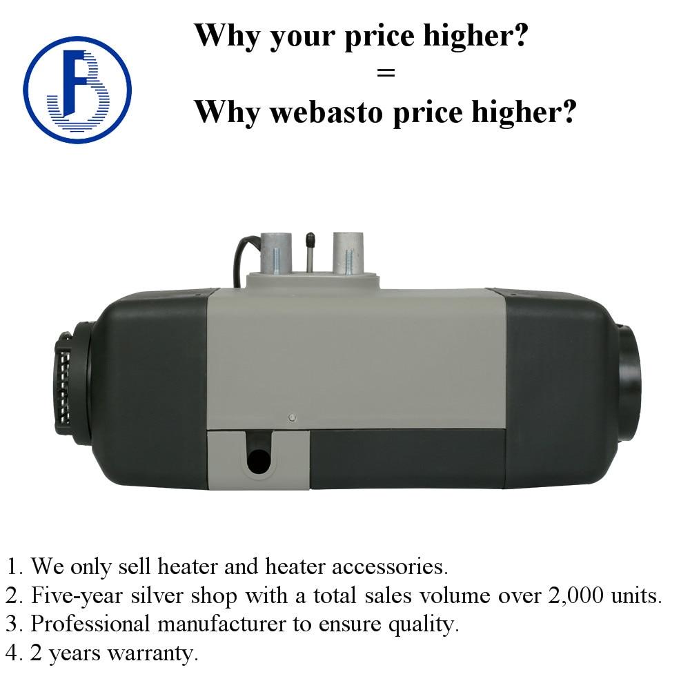 Air Parking Heater 5KW 12V diesel  for car camper caravan ship truck  bus etc similar to webasto heater ( not webasto )