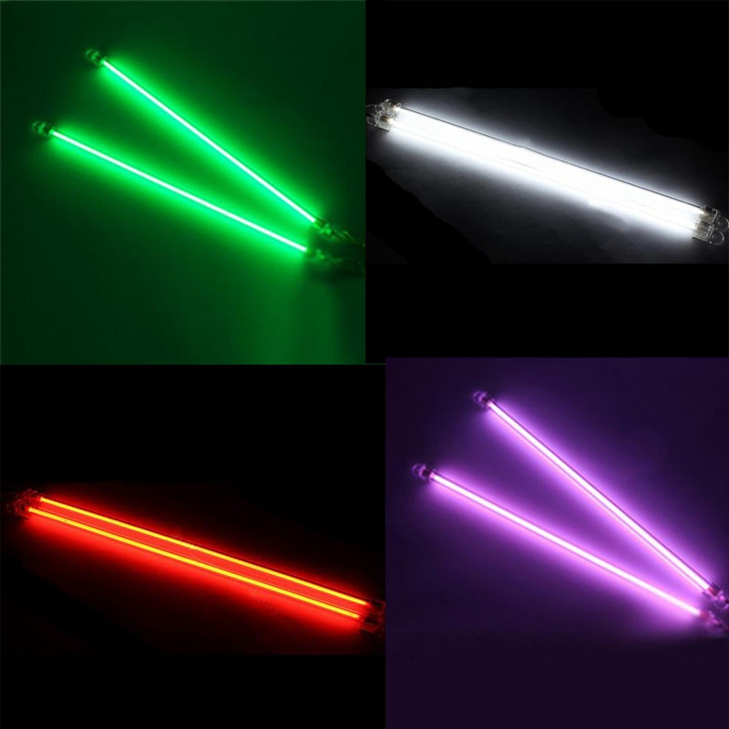 EE support 2 Piece 6/15cm Car Undercar Underbody Neon Tube Light CCFL Cold Cathode Car Styling Atmosphere Lamp image