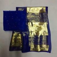 gold nigerian lace fabric 2019 pure silk fabric guinea brocade fabric satin fabric jacquard brocade fabric5+2yard/lot ! P30726