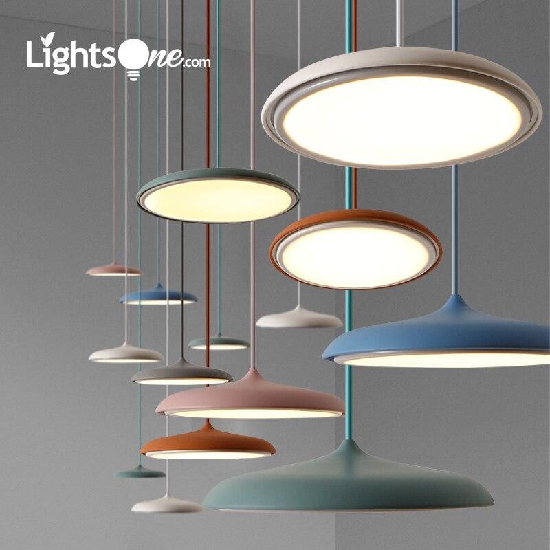 Scandinavian Art Restaurant pendant Lamp Modern Simple Design Danish Bar Creative Makarion Flyer Pendant Light