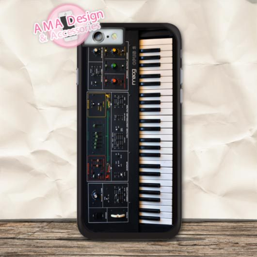Electronic Piano Funny Pattern Protective Case For iPhone X 8 7 6 6s Plus 5 5s SE 5c 4 4s For iPod Touch