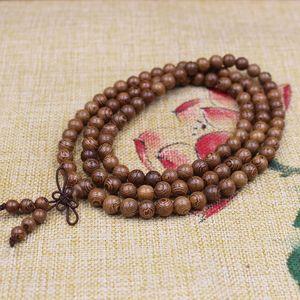 Image 4 - Buddhist 108 Beads Bracelet Meditation Rosary Bracelet Wooden Unique Prayer Beaded Women Men Lucky Bangles Bracciali