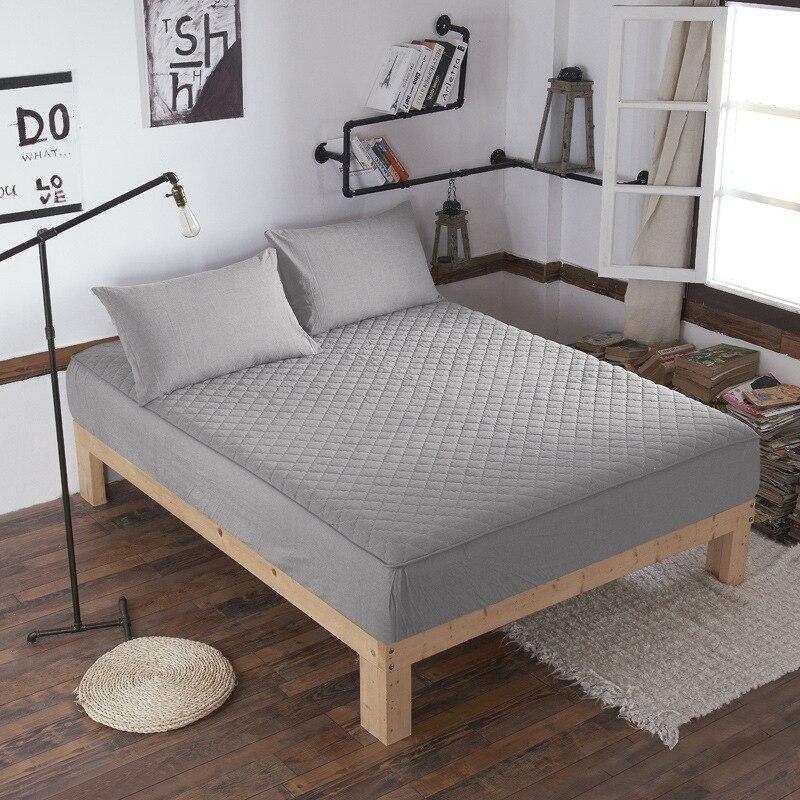 100% Cotton Mattress Covers Anti-Bacteria mattress protector Four-season Home Textile Air-Permeable housse matelas Customized