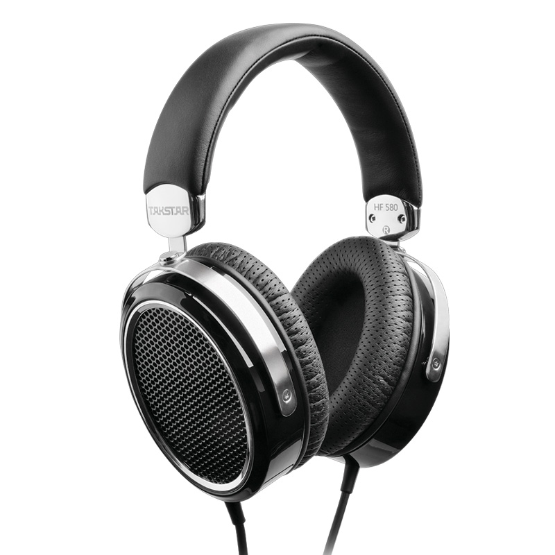 Takstar HF 580/HF580 Hi-Fi Planar Headphone Ultra-large Planar Diaphragm Low Distortion Powerful LF Full MF Transparent HF