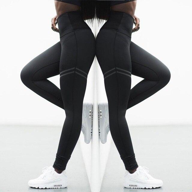 7d015ecbcbef0 Sexy Shaping Hip Up Yoga Pants Women Running Tights Workout Gym Leggings Slim  High Waist Sports Leggings Fitness Sport Pants