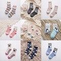 Осень Зима 2017 женщин носки девушка носки милые хлопчатобумажные носки животных фокс медведь корова дятел марка Бесплатная Доставка 1 лот = 2 pairs