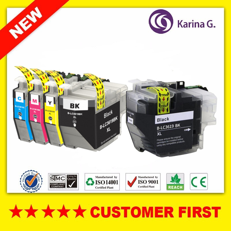 Compatible ink Cartridge for Brother LC3619 LC3619XL suit for Brother MFC J2330DW MFC J2730DW MFC J3530DW MFC J3930DW in Ink Cartridges from Computer Office