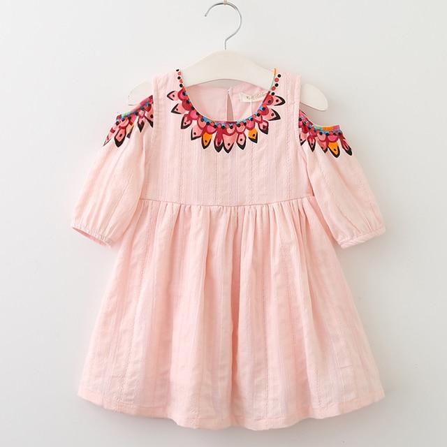 Menoea S Dress 2018 Summer Style Kids Lace Dresses Fashion Liques Design Baby Children
