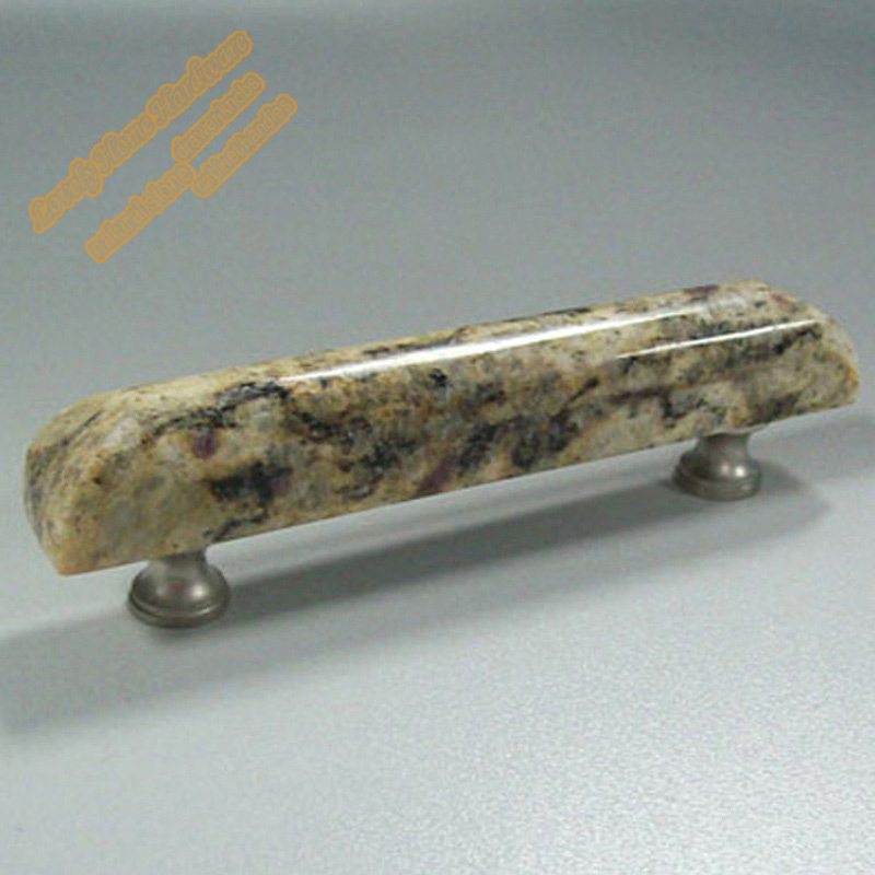 96mm Double Hole Cupboard Handles,Hot Sale Santa Cecilia Kitchen Cabinet  Drawer Pulls,Gold