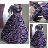 On sale R-165 Victorian Gothic/Civil War Southern Belle Ball Gown Dress Halloween dresses
