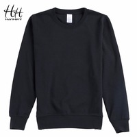 HanHent New Casual Sweatpants Solid Color Fashion O Neck Hoodies Autumn And Winter Bottom Shirt Universal