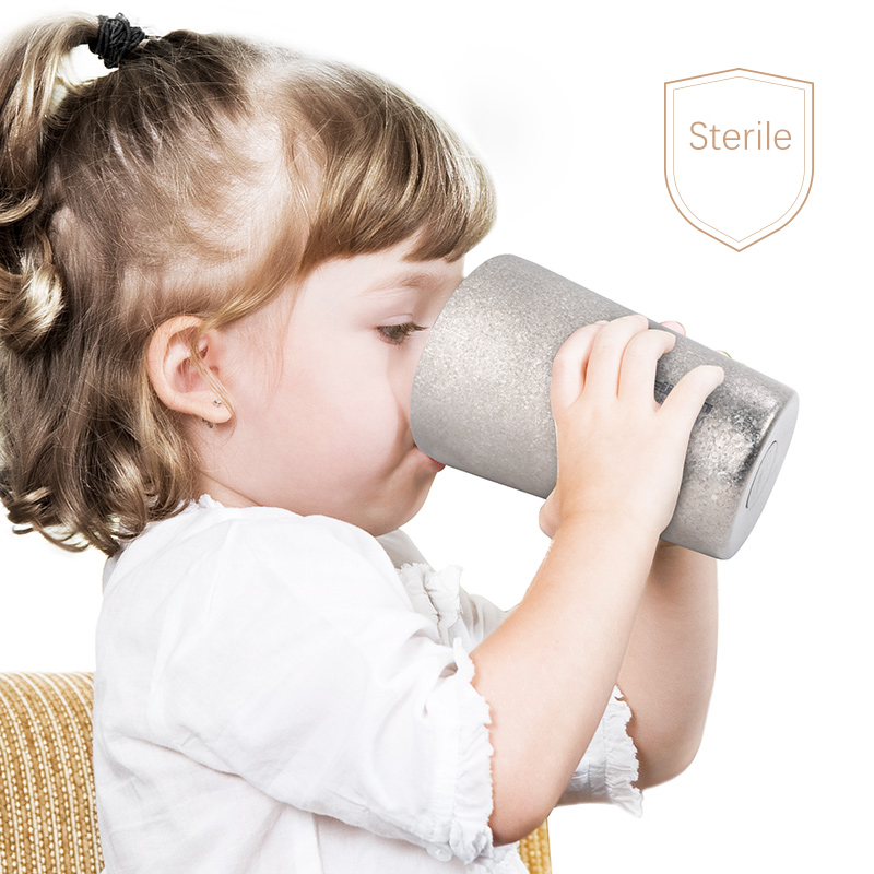 Feijian unique Titanium thermos sport bottle vacuum cup coffee mug tumbler kettle Luxury Premium gift Flask Thermocup shaker