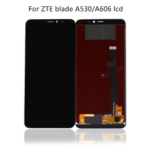 цены 100% tested 5.45'' new black for ZTE medium blade A530 A606 LCD + touch screen digitizer replacement accessories